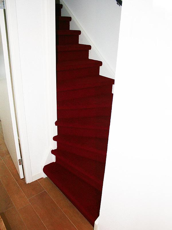 trap stofferen / bekleden met tapijt in eindhoven, Deco ideeën