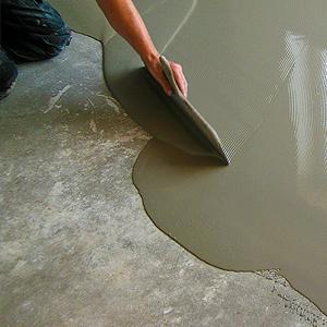 Reparatie en egaliseren van vloeren