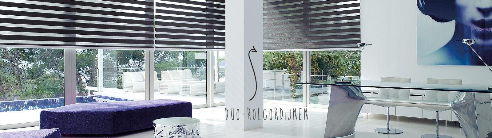 Duo Rolgordijn van Brabant Tapijt uit Eindhoven