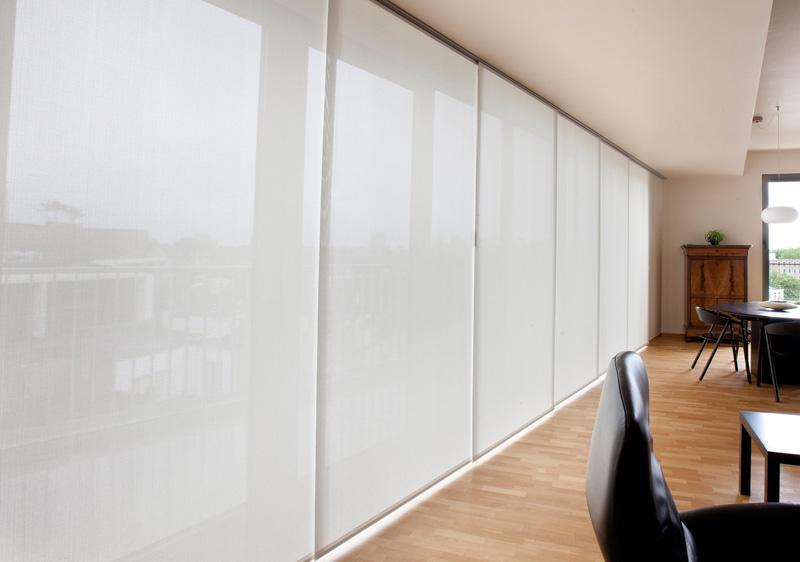 Gordijn Als Scheidingswand : Paneelgordijnen zijn een populaire vorm van raamdecoratie
