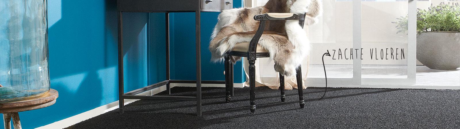 Zachte vloeren zoals tapijt, karpetten, tapijttegels en projecttapijt van Brabant Tapijt uit Eindhoven