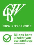 Brabant Tapijt uit Eindhoven is CBW Erkend